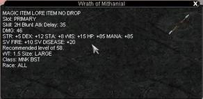 Wrath of Mithanial